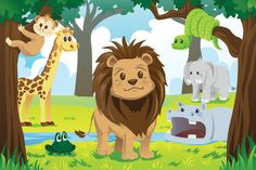 Lord of the Jungle for Wall Decor by Print a Wallpaper - Offering Wallpaper Solution at USD 2.0 / sq.ft. Email us at info@printawallpaper.com or call us at +91-98110-31749
