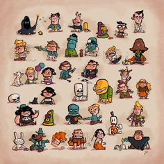 Tiny Adventures Mini Art Print by KristjA!n Kristinsson - Without Stand - x Monkey Island, Island Tattoo, Lucas Arts, Adventure Games, Sketch Painting, Video Game Art, Little Babies, Designs To Draw, Pixel Art