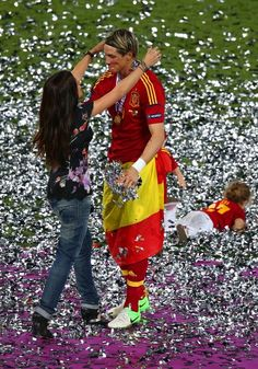 He scored, won the Golden Boot, has two beautiful bubbas and his missus loves him. Not been that bad a season, all told.