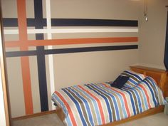 images about plaid wall paint on Pinterest Plaid