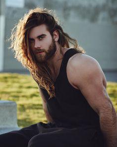 Brock O'hurn - I want! Hairy Men, Bearded Men, Brock Ohurn, Hipster Noir, Hair And Beard Styles, Long Hair Styles, Man Bun Hairstyles, Long Hair Beard, Viking Men