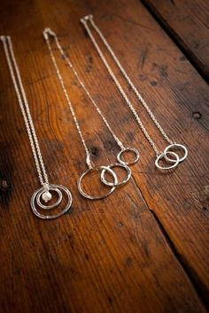 Hammered Silver Necklaces | Alana Lilie | Bourbon & Boots