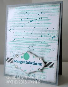 Relax. Make a Card: Gorgeous Grunge Congratulations