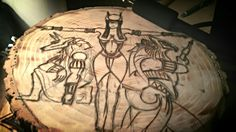 Egyptian Gods beginning