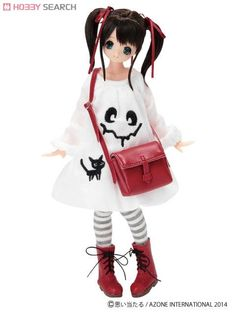 [Close] Came Back Monster One-piece (White) (Fashion Doll) Item picture2