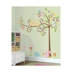 Found It At Wayfair Kids Tree Giant Wall Decal Set Dining - Nursery wall decals home depot