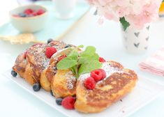 French Vanilla French Toast With Cream Cheese Butter