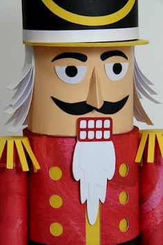 The Paper Boutique: Christmas in July Nutcracker Style and Giveaway! Nutcracker Decor, Nutcracker Soldier, Nutcracker Christmas, Christmas Sewing, Christmas In July, Christmas Projects, Holiday Fun, Christmas Crafts, Christmas Classroom Door