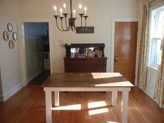 diy simple table for backyard