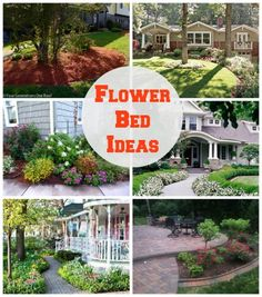 flower bed ideas - www.fourgenerationsoneroof.com