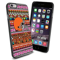 """Cleveland Browns Football Aztec iPhone 6 4.7"""" Case Cover Protector for iPhone 6 TPU Rubber Case SHUMMA http://www.amazon.com/dp/B00VR0RDIE/ref=cm_sw_r_pi_dp_g2JTwb18R57MG"""