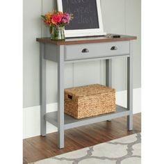 Chatham House Newport Console Table with Drawer - BedBathandBeyond.com