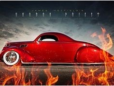 Rumba Red.................................coolest car ever