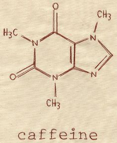 Caffeine Molecule | Urban Threads: Unique and Awesome Embroidery Designs