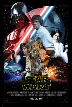 Star wars episode IV, a new hope Star Wars Pictures, Star Wars Images, Star Wars Episodio Iv, Harison Ford, Star Wars History, Cuadros Star Wars, Star Wars Design, Episode Iv, Star Wars Wallpaper