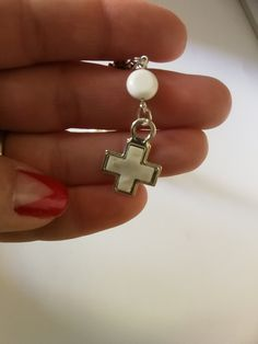 Shell rosary baptism favors Mini rosary guests gifts Decade recuerdo de bautizo Religious christening cross Girl baptism Boy souvenirs White
