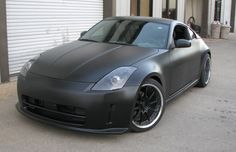 Nissan 350Z — Murdered-Out: 50 Menacing Matte Black Cars | Complex