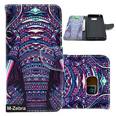 Galaxy Note 5 Case, Note 5 Case,M-Zebra Samsung Galaxy Note 5 Wallet Case [Wallet Function] Flip Cover Leather Case for Samsung Galaxy Note 5, with Screen Protectors+Stylus+Cleaning Cloth (Elephant 1) ||WIRELESS_ACCESSORY|| Made by Galaxy Note 5