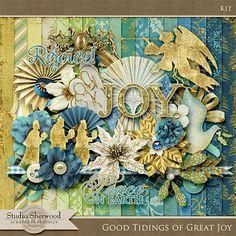 Scrapbookgraphics.com :: Kits :: Good Tidings of Great Joy