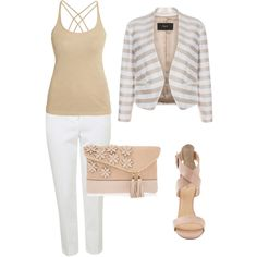 Classic Nude-Zarah Palmer by zpalmer2015 on Polyvore featuring polyvore, fashion, style, Morgan, Paul Smith, Topshop, Barneys New York and Henri Bendel