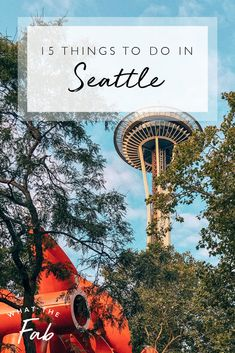 Looking for fun things to do in Seattle? This complete list hits all of the top things to do in Seattle, Washington that you won't want to miss! Washington Things To Do, Things To Do Seattle, Seattle Washington, Fun Things, Washington State, Seattle Travel Guide, Seattle Vacation, Seattle Weekend, Travel Usa