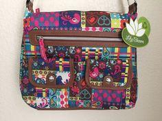 LILY BLOOM Little House on the Prairie Multi-Ally Hobo Crossbody Bag/  Purse #LilyBloom #Crossbody