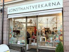 Konsthantverkarna // swedish crafted textiles, ceramics, etc.