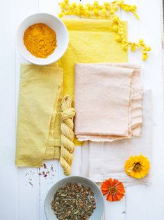 natural fabric dyeing DIY