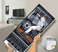 Mariano Rivera Artist Series Mega Ticket - New York Yankees