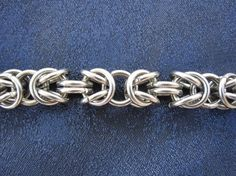 free chainmaille jewelry patterns - byzantine