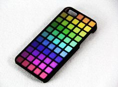 Color Make up palette iPhone 5 Case,iPhone 4S/4 Case,Rubber Case | ACYC - Accessories on ArtFire