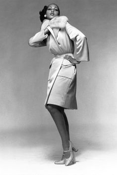 So elegant. Model Pat Cleveland got her start in the Ebony Fashion Fair.