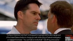 "Criminal Minds Moments - One of the moments when Hotch becomes ""HOT""ch - Aww Yes!!!!"