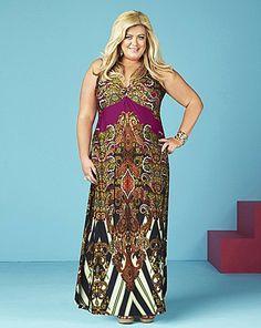 f3d4ef213c895 Gemma Collins plus-size simply be maxi dress Gemma Collins Clothes