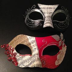 Masquerade Masks by Circle City Creations! The masks that started it all. One of the first DIY examples I saw when my mask making addiction began Mardi Gras, Carnaval Diy, Masquerade Party, Masquerade Masks, Plotter Cutter, Full Face Mask, Face Masks, Beautiful Mask, Venetian Masks