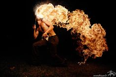 Illusion: Spectacular photos by/© Tom Lacoste.     http://illusion.scene360.com/art/25778/fire-breathing/