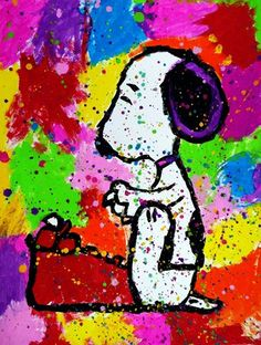 "From exhibit """"Peanuts"" Inspired by Tom Everhart"" by Rachel8190"