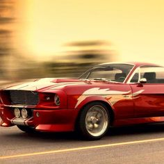 Look at this cool Ford Mustang