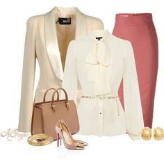 """Classic Office Attire"" by kginger on Polyvore"