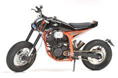 Honda Transalp Street Tracker by EEM Racing Motorcycles, Harley Davidson Motorcycles, Custom Motorcycles, Custom Bikes, Custom Baggers, Honda Dominator, Street Tracker, Motorcycle Tips, Motorcycle Quotes