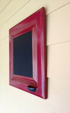 Message Boards MADE TO ORDER cranberry