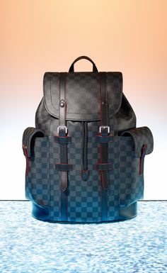 For the man with the urban lifestyle, bring home the Louis Vuitton Christopher backpack this holiday. With pockets on the outside and inside, including an iPad pocket, this backpack offers versatility and style.
