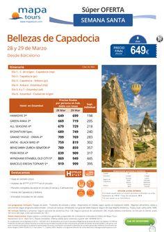 Bellezas de Capadocia S.Santa salida Barcelona**Precio final desde 649** ultimo minuto - http://zocotours.com/bellezas-de-capadocia-s-santa-salida-barcelonaprecio-final-desde-649-ultimo-minuto/