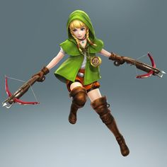 #Linkle finally confirmed! #HyruleWarriors #HyruleWarriorsLegends <- DOUBLE CROSSBOWS DUUUUUUDE