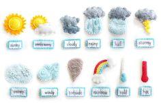 Estación meteorológica Digital coser patrones de por ImagineOurLife