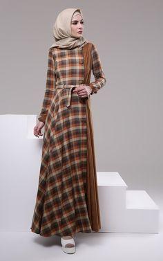 Dress - A.D.A by Ayu Dyah Andari - Tartan Coat