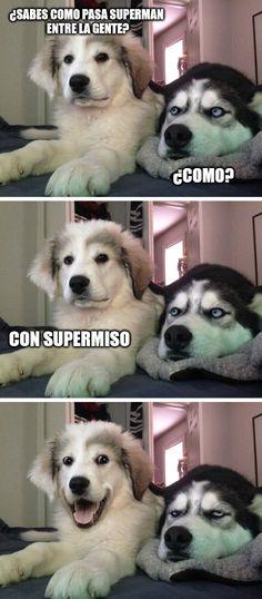 Superman educado        Gracias a http://www.cuantocabron.com/   Si quieres leer la noticia completa visita: http://www.estoy-aburrido.com/superman-educado/
