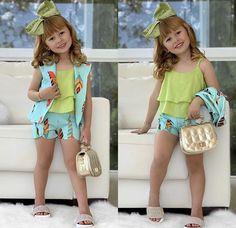 น่ารัก💋💋💋 Kids Fashion Wear, Baby Girl Fashion, Kids Frocks, Frocks For Girls, African Dresses For Kids, Little Girl Dresses, Baby Girl Boutique, Baby Girl Dress Patterns, Handmade Baby Clothes