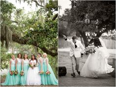 Wedding pictures  |  Bridal party  |  Bride and groom |  Black and white  |  Wedding dress  |  Bridesmaids  |  Bouquets  |  Wedding day  |  Aislinn Kate Photography