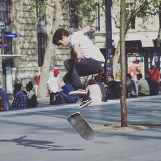 Instagram #skateboarding photo by @paulmarguerite - #skateboarding #republique #skate #skateboard #skateboarder. Support your local skate shop: SkateboardCity.co